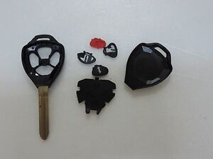 New 4 Button Remote Head Key Case Shell For Toyota Case Replacement