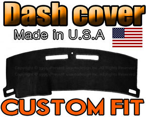 Fits 2010 2015 Chevrolet Camaro Dash Cover Mat Dashboard Pad Black
