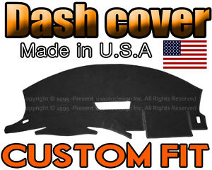 Fits 1993 1996 Chevrolet Camaro Dash Cover Mat Dashboard Pad Black