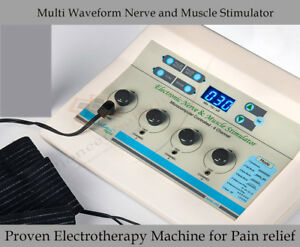New Fda Cleared Professional Electrotherapy Physical Machine For Pain Relief