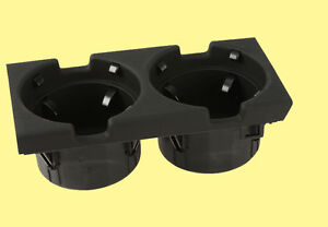 Black Center Console Dual Cup Holder For Bmw 3 series 51168217953 Drink Coffee