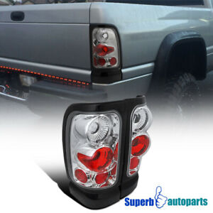 For 1994 2001 Dodge Ram Replacement Tail Lights Brake Rear Lamps