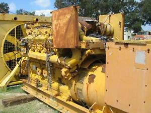 4329 Caterpillar D398b Industrial Generator Set