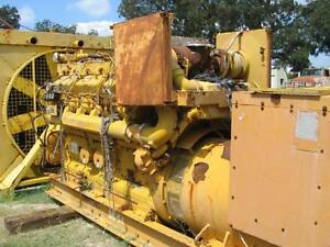 4329 Caterpillar 500kw Industrial Generator Set
