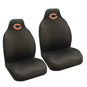 New Nfl Chicago Bears 2 Front Universal Fit Car Truck Bucket Seat Covers