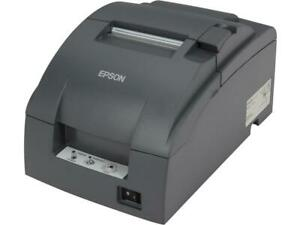 Epson Tm u220b Receipt kitchen Impact Printer With Auto Cutter Dark Gray C31c5