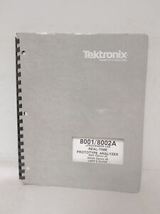 Tektronix 8001 8002a Processor Lab Real time Prototype Analyzer