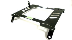 Planted Seat Bracket Driver Left Side Honda Cr Z 2010 Steel Black