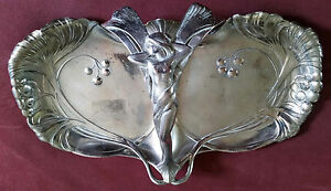 Art Nouveau Wmf Silver Plated Tray German Austrian Silver Plated Silver Plate