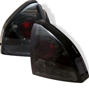 Fit Honda 92 96 Prelude Smoke Euro Style Rear Tail Lights Lamp Si S 4ws V tec