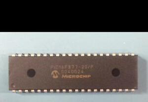 Lot Of 10 New Microchip Pic16f877 20 p 8 bit Flash Microcontroller