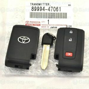 2004 2009 Toyota Prius Smart Entry Key And Remote with Smart Entry