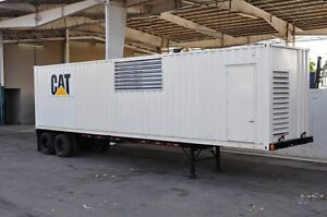 10646 Caterpillar Sound Attenuated Custom 1500 Industrial Power Module