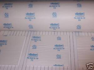 Viledon Pa 560 G 10 Spray Paint Booth Ceiling Filters 3 78 3 4 X 246