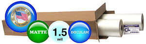 Doculam Hot Laminating Film 25 X 500 On 1 Core 1 5 Mil 4 Rolls Matte