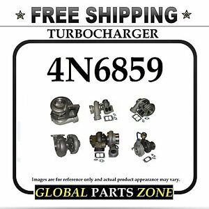 New Turbo For Caterpillar 4n6859 4n 6859 409410 0008 4n6858 T04b91 Free Delivery