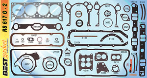 New 1961 1967 Pontiac V8 326 389 421 Full Engine Gasket Set