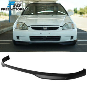 Fit 99 00 1999 2000 Honda Civic T R Pp Front Bumper Lip