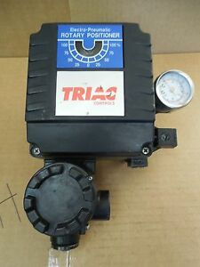 Triac Controls Electo pneumatic Rotary Positioner New