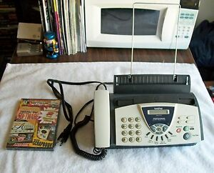 Brother Fax 575 Personal Fax Phone And Copier And Free Desktop Software Suite