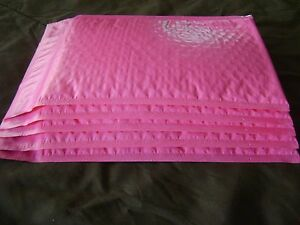 100 Hot Pink 6 X 9 Bubble Mailer Self Seal Protective Envelope Padded Mailer