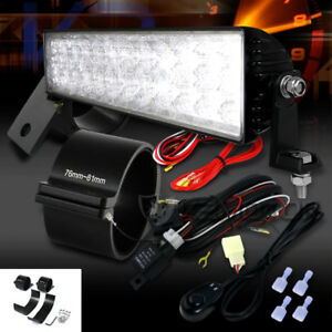 14 24 led Truck Suv Off Road Work Light Bar wiring Switch 3 Mounting Brackets