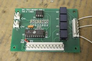 Unknown Brand Name Circuit Board Card Tds 3 Tds3 Timer Dfl tds3 m549a1 s00 1