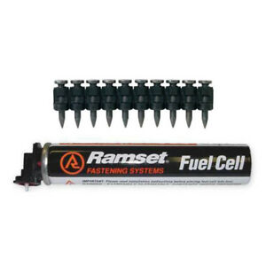 Itw Ramset Red Head Fpp034b Trakfast 3 4 Black Pin With Fuel