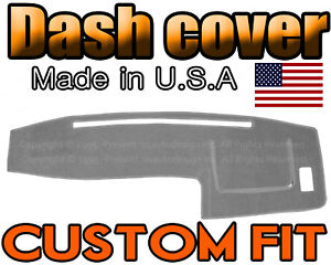 Fits 1998 2004 Toyota Tacoma Dash Cover Mat Dashboard Pad Light Grey