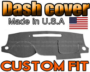 Fits 2006 2008 Chevrolet Uplander Dash Cover Mat Dashboard Pad Charcoal Grey