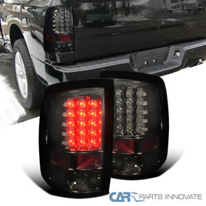 For Dodge 09 18 Ram 1500 10 18 Ram 2500 3500 Led Smoke Tail Lights Brake Lamps