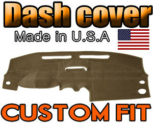 Fits 2004 2005 2006 Chevrolet Aveo Dash Cover Mat Dashboard Pad Taupe
