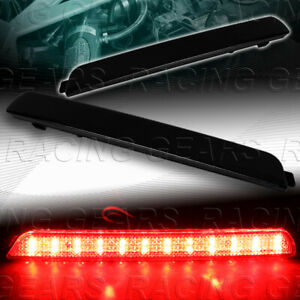 Smoke Lens Led Rear Bumper Reflector Brake Lights Fit 04 09 Mazda 3 Mazdaspeed3