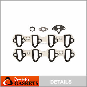 Intake Manifold Gaskets Metal Fit 99 15 Chevrolet Gmc Cadillac 4 8l 5 3 6 0 6 2