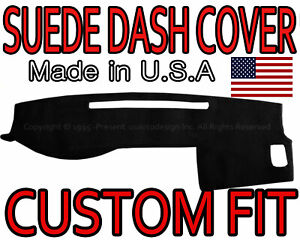 Fits 2005 2015 Toyota Tacoma Suede Dash Cover Mat Dashboard Pad Black