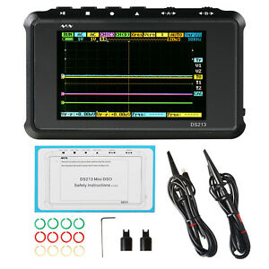 Dso203 Portable Digital Oscilloscope Arm Pocket Cortex M3 Cpu 8m Hz Handheld
