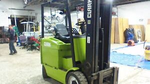 Clark Forklift Commercial Electric Pallet Jack Reach Truck Fork Lift Stacker