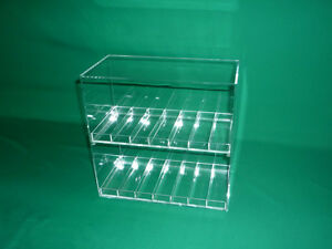 Display Cases With 1 Slot Size