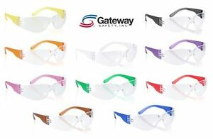 10 Gateway Starlite Safety Glasses Gumballs Sm 3699 Multi Color Pack