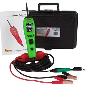 Power Probe Pp405as Green Powerprobe 4 Iv Diagnostic Electronic Circuit Test Kit