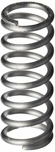 Compression Spring 302 Stainless Steel Inch 0 21 Od 0 026 Wire Size 0 225 L