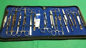 71 Us Military Field Minor Surgery Surgical Veterinary Dental Instruments Kt