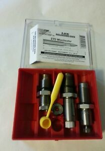 Lee Pacesetter 3 die set for 270 Win NIB #90505
