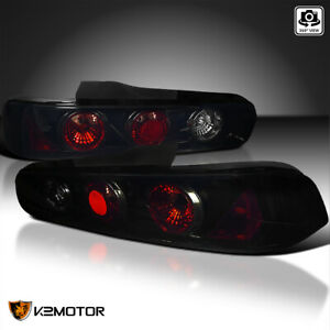 Black Smoke 1994 2001 Acura Integra 2dr Rear Tail Lights Lamps Left Right