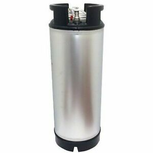 New 5 Gallon Ball Lock Keg With Dual Rubber Handle draft Beer Coffee Mead Soda