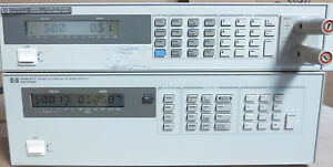 Agilent Hp 6626a Quad Variable Dc Output Power Supply Tested At Full Load