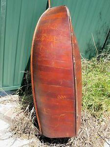 Large Australian Cedar Model Racing Yacht126 Cm Long Pond Boat Balmain Bug