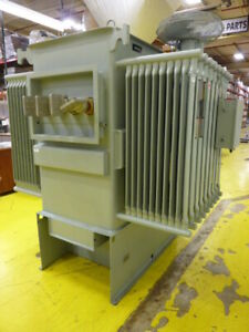 Siemens Unit Substation Transformer Pc g 1002 Used 61018