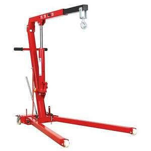 Sealey Yankee Folding Engine Crane 1 Tonne Lift Hoist Garage Diy Ph10