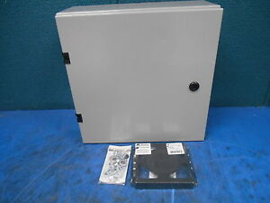 Hammond Industrial Control Panel Enclosure Junction Box A 825 Type 4 12 E65324